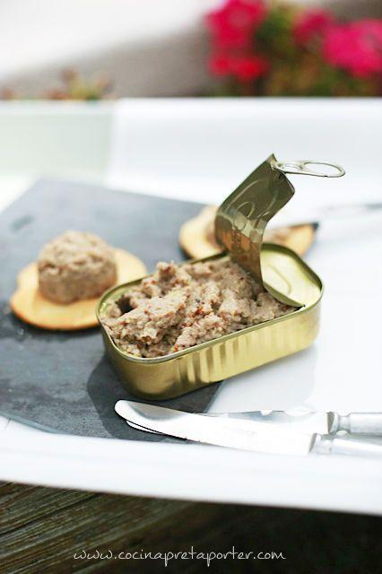 Un aperitivo especial: Paté de Sardinas, ¡una crema suave deliciosa en tu aperitivo!