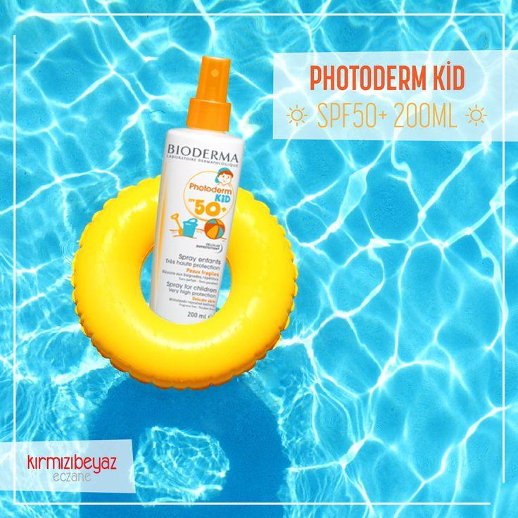 Afrika sıcakları geldi! Çocuklarınızı Bioderma ile güneşe karşı hassas korumaya alın: