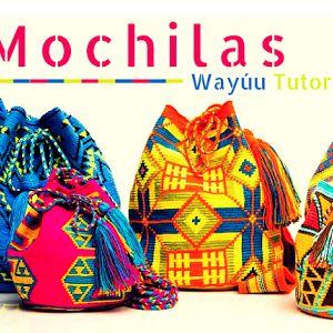 Patrón #638: Mochila Wayúu de Rombos | CTejidas [Crochet y Dos Agujas]