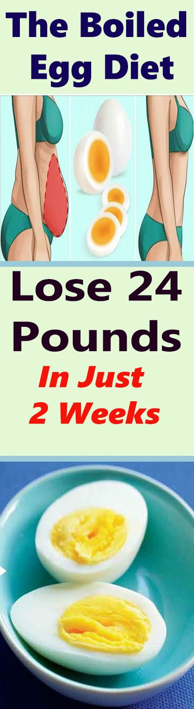 Boiled Egg Diet – Lose 24 Pounds In Just 2 Weeks! Unbelievable – Let's Tallk