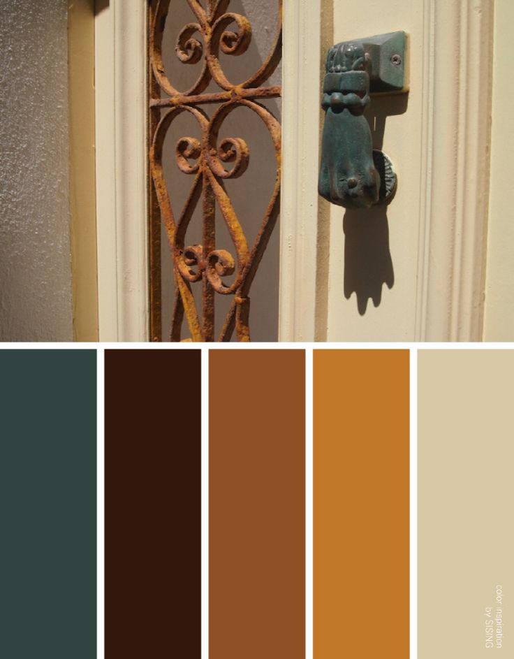 [color inspiration & photo by SISING] calm, relax, warm, beige, brown, orange, classy