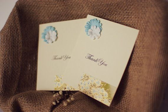 Thank You Card by MascandFemme on Etsy, $3.00