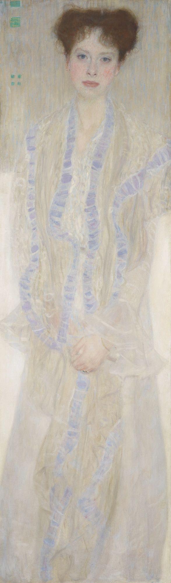 Gustav Klimt | Portrait of Gertrud Loew