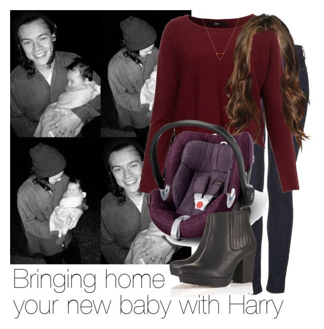 """""""REQUESTED: Bringing home your new baby with Harry"""" by style-with-one-direction ❤ liked on Polyvore featuring Topshop, Mamas & Papas, Wanderlust + Co, OneDirection, harrystyles, 1d and harry styles one direction 1d"""