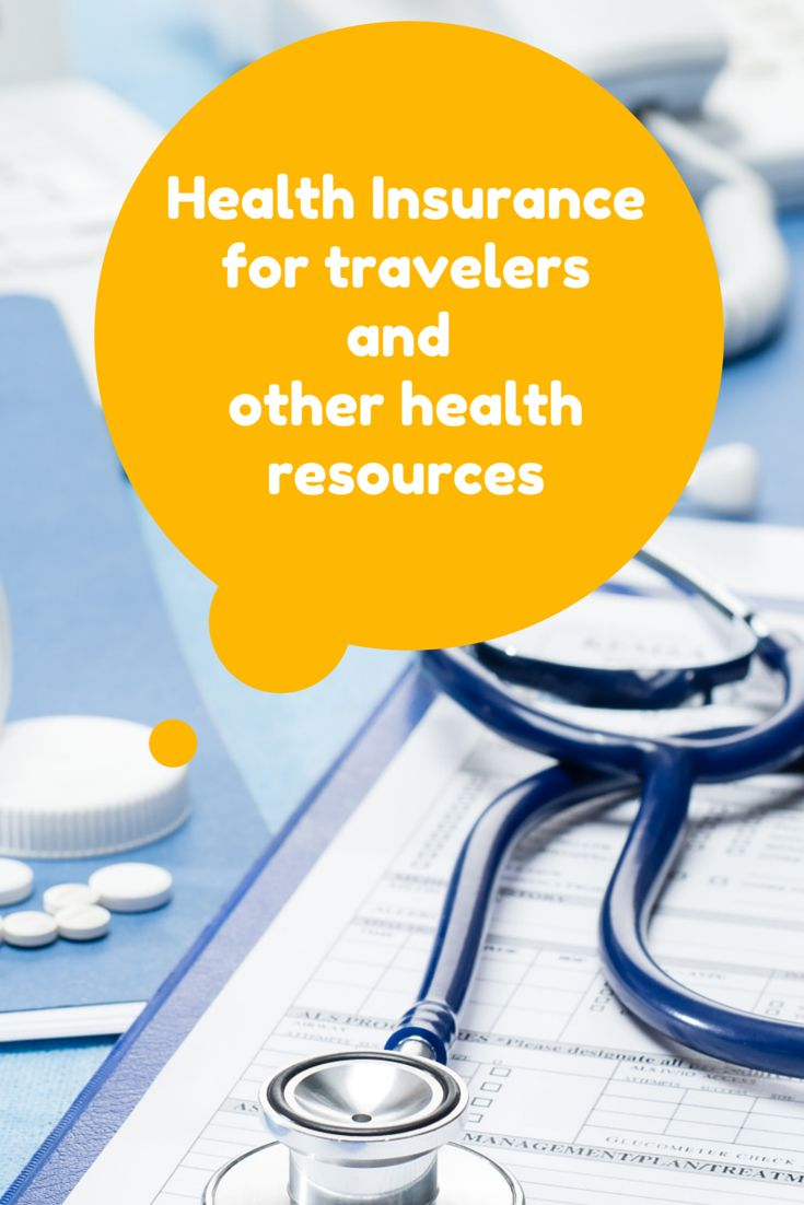 What a US long-term traveler should know about health insurance. International health insurance vs. travel insurance. Health and travel online resources.