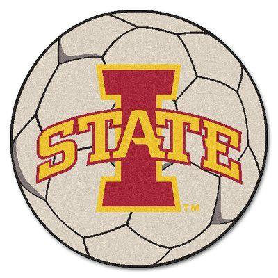 FANMATS NCAA Iowa State University Soccer Ball