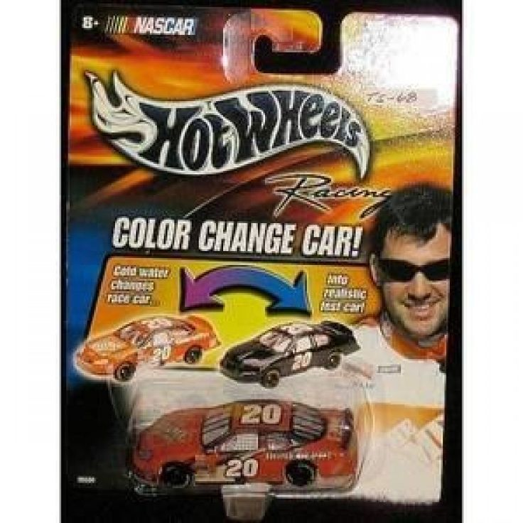 2003 Tony Stewart #20 Home Depot Color Changer Car Hotwheels 1/64 Scale Diecast Cold Temperature To Warm Temperature Changes Color  Features : 2003 Tony Stewart #20 Home Depot Color Changer Car Hotwheels 1/64 Scale Diecast Cold Temperature To Warm Temperature Changes Color *Hood and Trunk DO NOT Open