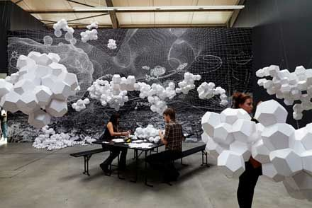 Cloudy House
