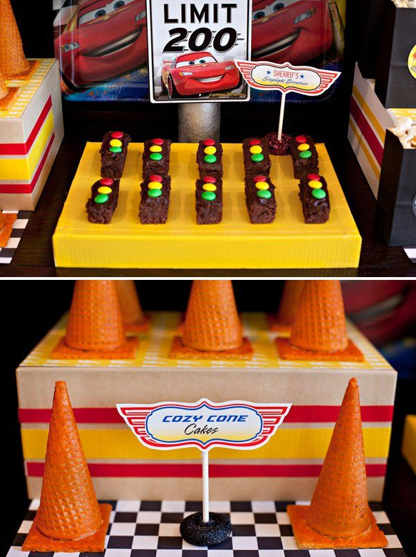 Super Cool Disney Pixar Cars Birthday Party // Hostess with the Mostess®