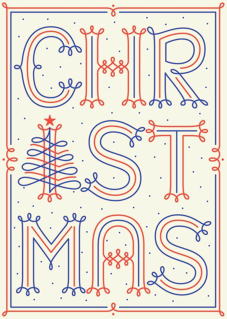 Christmas postcard by Martina Flor