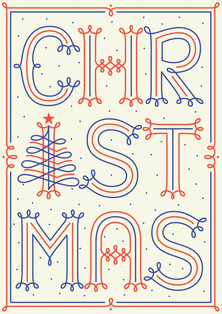 Christmas postcard by Martina Flor
