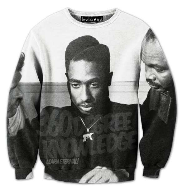 Tupac Sweater. Urban Fashion. Hip Hop Fashion. Hip Hop Style. Swag. Dope