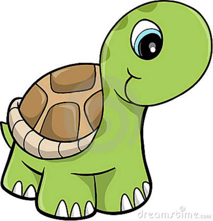 Free Cute Clip Art | Cute Safari Turtle Vector Illustration Royalty Free Stock Photos ...