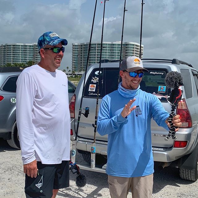Had A Great Time Catching Fish And Filming Bamabeachbum Fishing This Morning In Gulf Shores Even Though The Catfish Seemed To Follow Us Staybummy