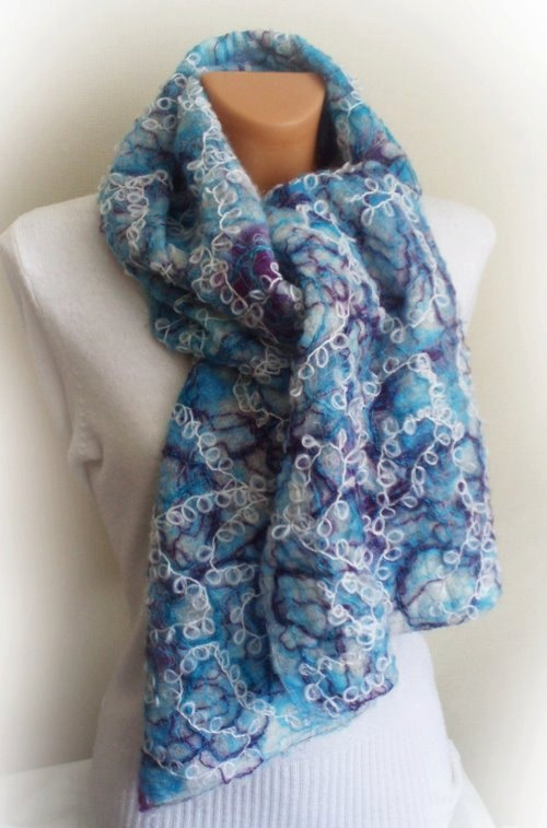 Original handmade crazy wool wool and yarn by Accessories4women, $78.00
