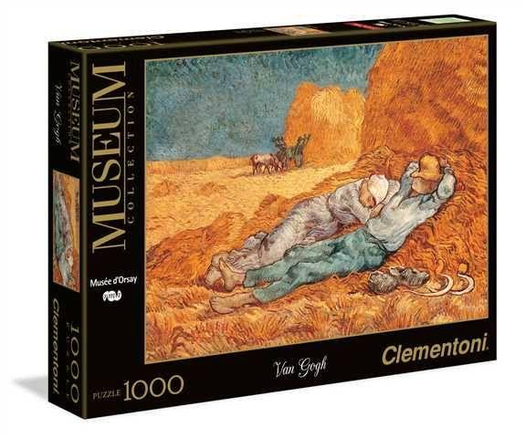 puzzle la siesta van gogh