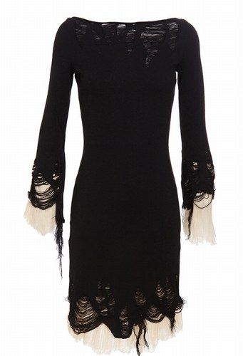 there's something about shredded black draping fabric that makes my eyes pop and my brain feel happy. this by McQueen.