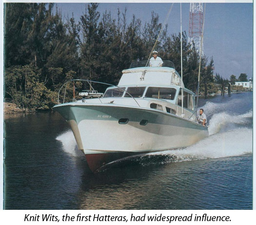 Sport Fisher -- #Hatteras Yachts hull #1 designed by Jack Hargrave