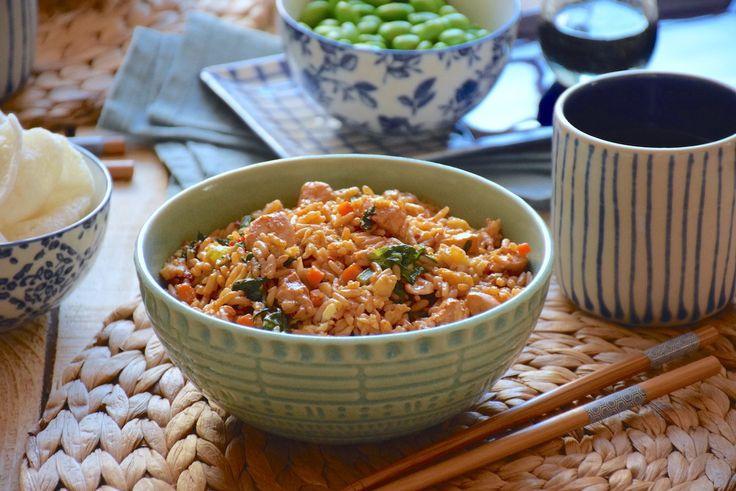 Rêve de Bali - Nasi goreng ayam (riz frit balinais au poulet)