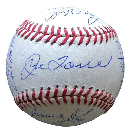 New York Yankees Team Signed 2000 World Series Baseball 16 Signatures Steiner