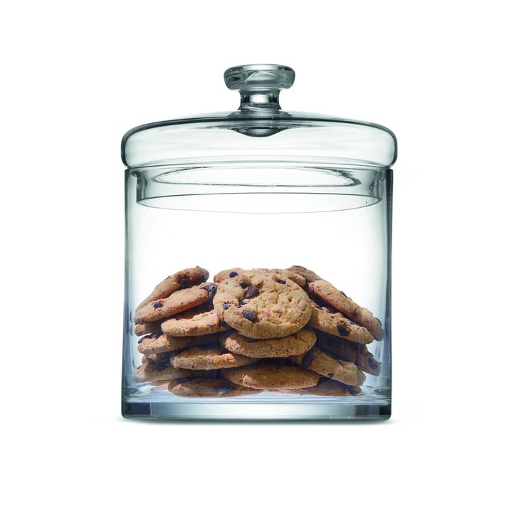 Straight Glass Jar | Kmart