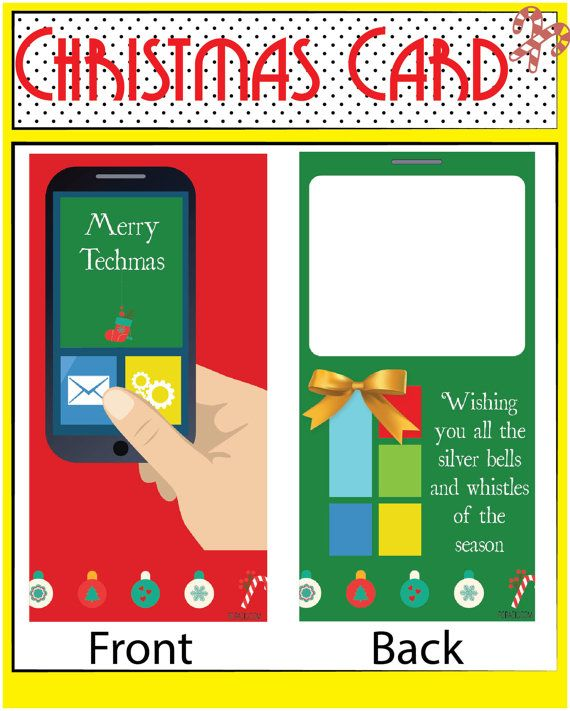 This Christmas card is unique, fun and is sure to bring a smile to someones…