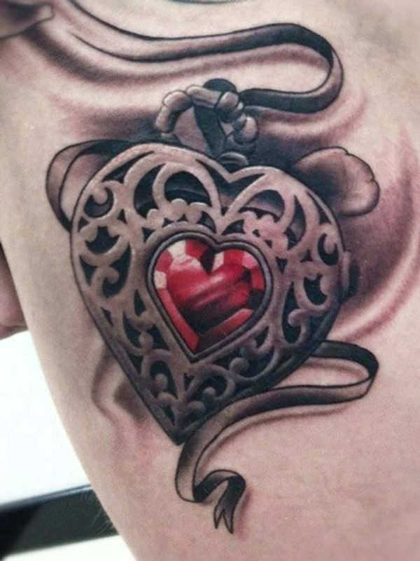 25 best ideas about herz tattoo auf pinterest herz. Black Bedroom Furniture Sets. Home Design Ideas