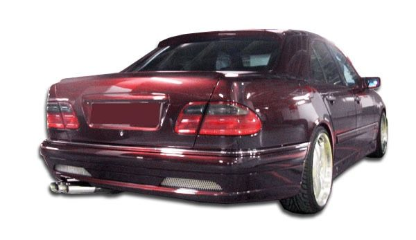 For Mercedes-Benz E320 96-99 Side Skirt Rocker Panels LR-S Style Fiberglass Side