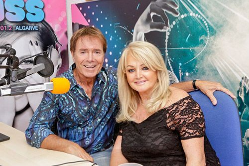 Sir Cliff Richard and Bonnie Tyler delight fans at Kiss Fm's ...