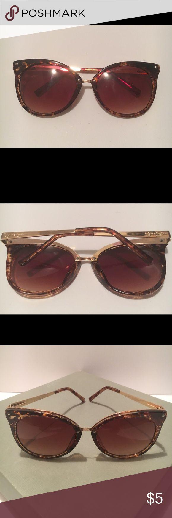 Jessica Simpson Sunglasses Flat Lens Tortoise Sunglasses Jessica Simpson Accessories Sunglasses