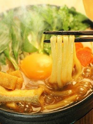 「讃岐うどんで名古屋風味噌煮込みうどん」※だし汁、みりん、砂糖、酒は事前に併せておいてください。【楽天レシピ】