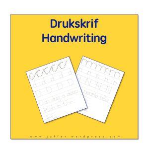 Drukskrif, Handwriting, Printing