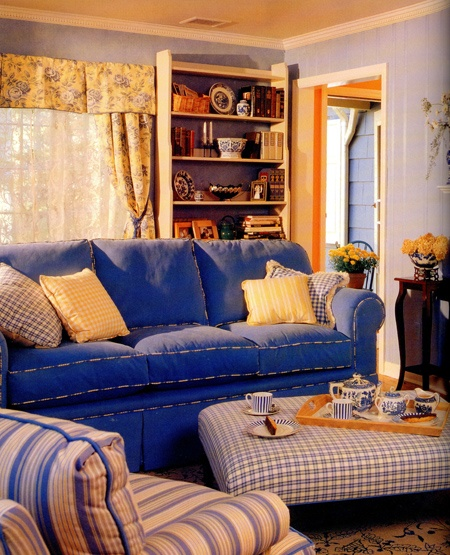 20 Charming Blue And Yellow Living Room Design Ideas: 17 Best Images About Yellow Blue Decor On Pinterest