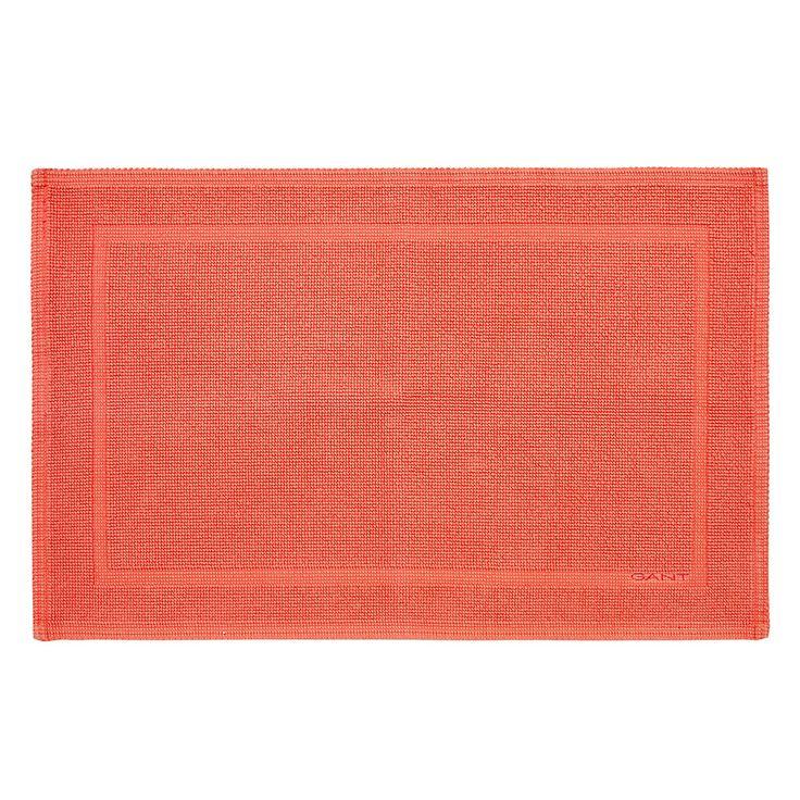 Gant - Badezimmerteppich - 60x90cm - Papaya Jetzt bestellen unter: http://www.woonio.de/produkt/gant-badezimmerteppich-60x90cm-papaya/