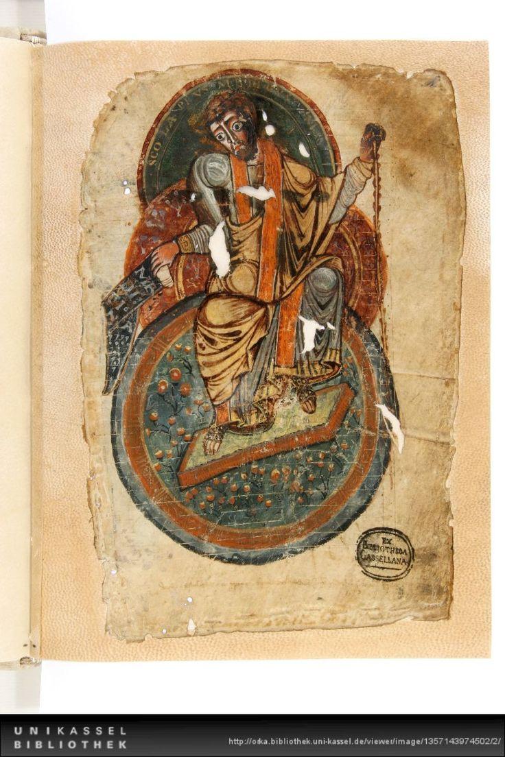 Pseudo-Apuleius: De herbarum medicaminibus.  http://orka.bibliothek.uni-kassel.de/viewer/image/1357143974502/2/