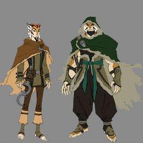 Personagens de Thundercats, por Dan Norton