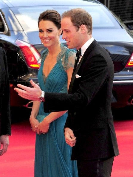 Prince William and Catherine, Duchess of Cambridge, arrive for a British Olympic Team GB gala event at the Royal Albert Hall in London, May 11, 2012.