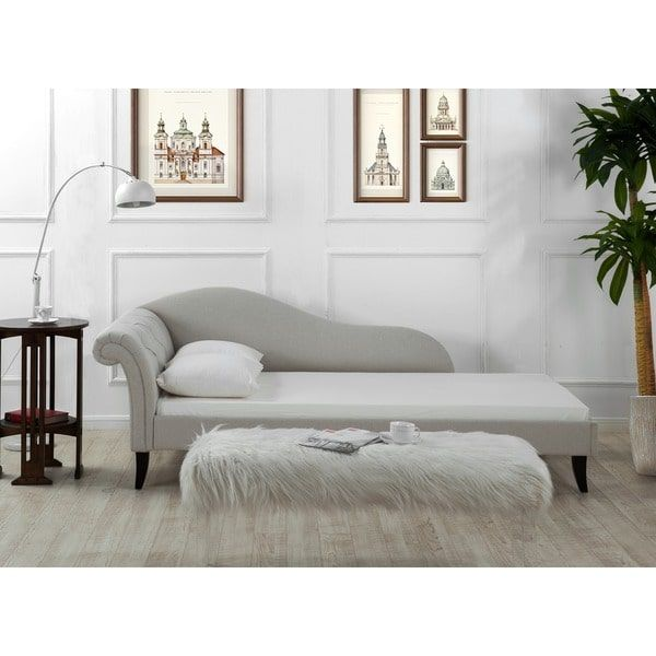 Jennifer Taylor Eliana Chaise Sofa Bed  sc 1 st  Pinterest : chaise sofabed - Sectionals, Sofas & Couches