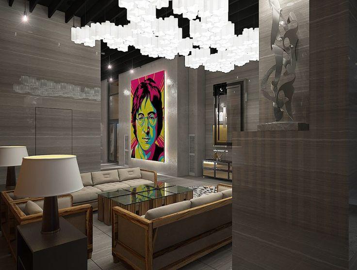 Взірці мистецтва, які в усьому світі пов'язують із Нью-Йорком. Ми зробили суспільний простір NEW YORK Concept House затишним місцем, де можна взяти паузу у насиченому ритмі життя та подивитися на речі з іншого ракурсу