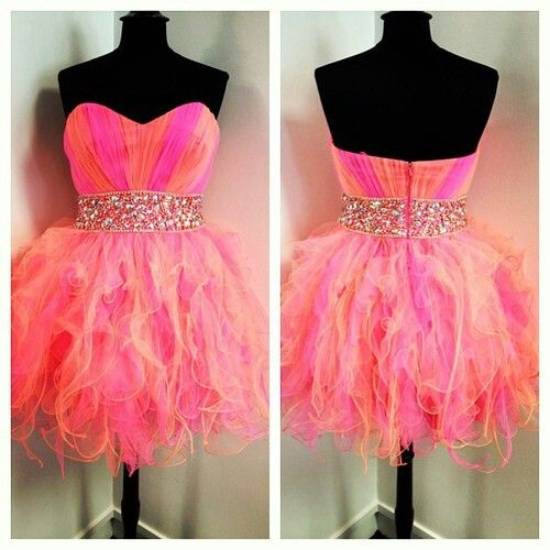 My birthday dress needs to look something like this for my neon party!