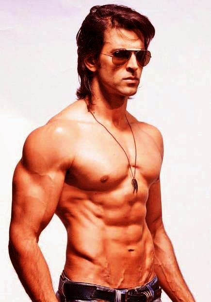 Film Actor Hrithik Roshan Exlusive Hot Body Without Shirt | 8 Abs Pack High Definitions Photos Free Download And Make Your Mobile Screen Fiery Toda...