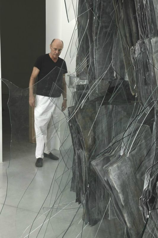 Anselm Kiefer, Shevirat Ha-Kelim (Le bris des vases)  2011