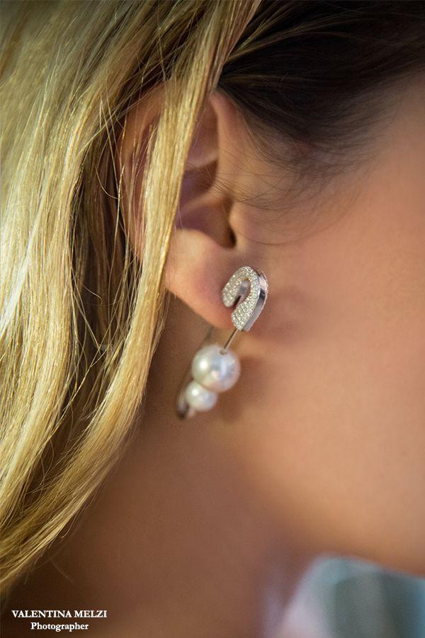 Earring by apm monaco in affashionate.com