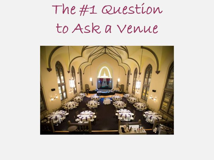 Comparing venues is rough. Here's what you need to ask...