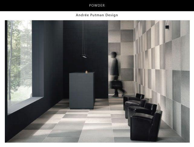 'Powder' floor wall tile by Julian Tile... so cool!