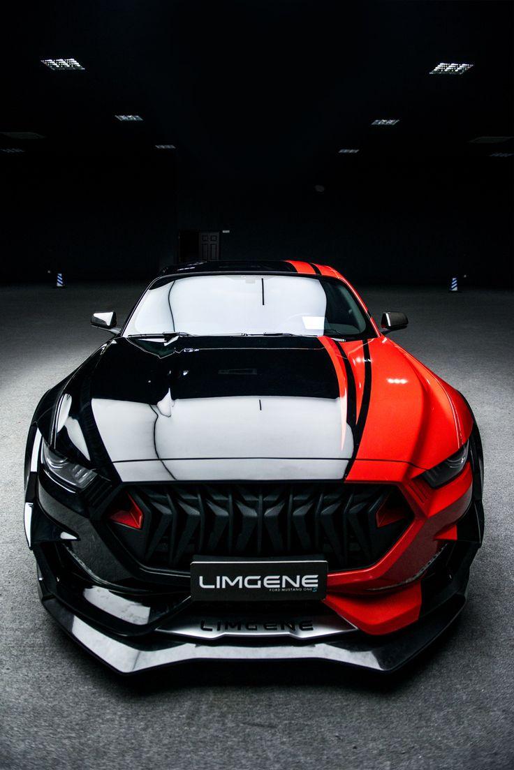 Mustang Rocket Price >> Front, Limgene Carbon Mustang Wide Body Kits | Luxury car ...