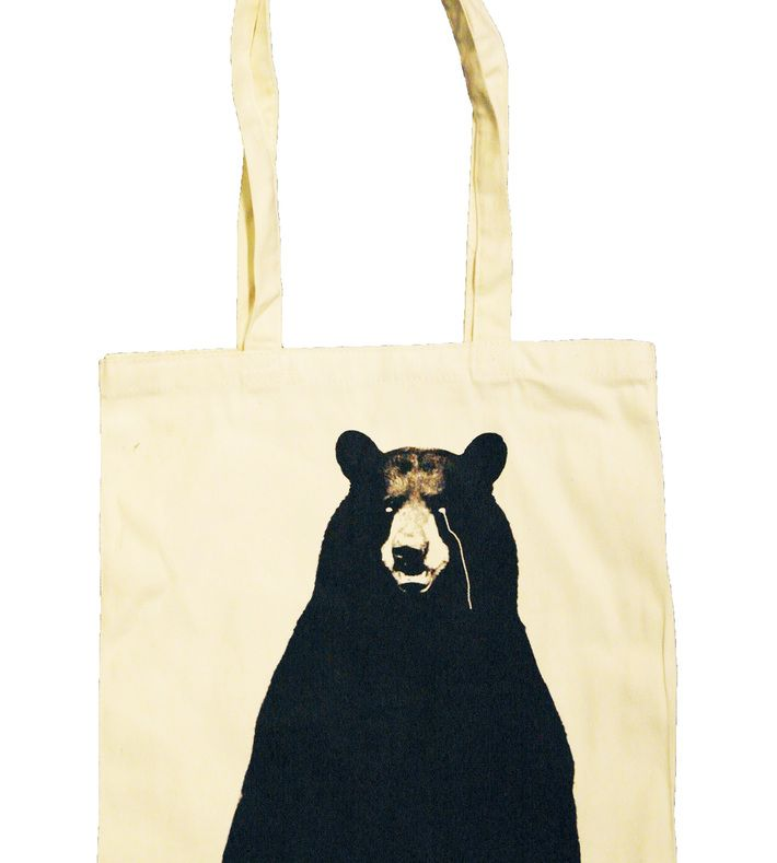 GROB tote bag. Strong quality canvas bag with long handles in 100% cotton. 42 X 39 cm.   You can buy this tote bag at www.artrebels.com #artrebels #totebag #art