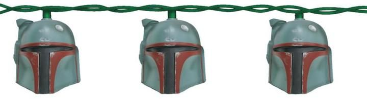Kurt S Adler, Inc. Kurt Adler Boba Fett Helmet 10-Light Set