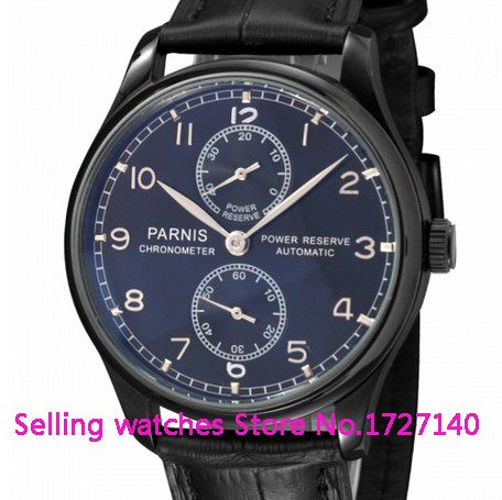 Like and Share if you want this  43mm Parnis PVD case Black Dial Power Reserve Automatic Watch p002     Tag a friend who would love this!     FREE Shipping Worldwide     Buy one here---> https://shoppingafter.com/products/43mm-parnis-pvd-case-black-dial-power-reserve-automatic-watch-p002/