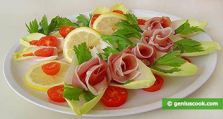 Ham & Endive | FOOD Party Yumminess | Pinterest